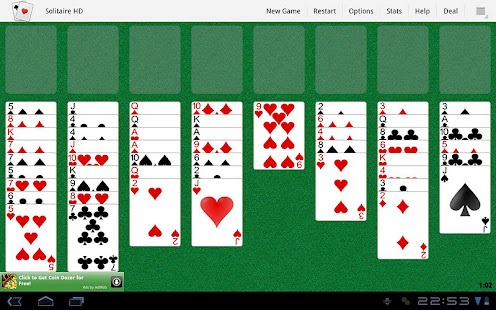 Solitaire HD- screenshot thumbnail