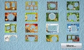 Screenshot of Natural Photo Frames