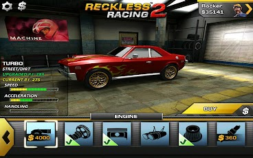 Android hra Reckless Racing 2   zavodni hry hry