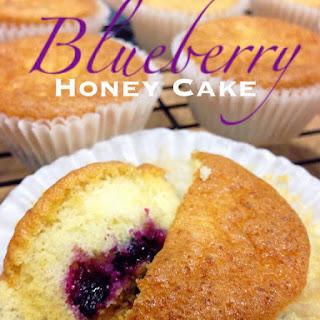 Blueberry Honey Cupcakes.