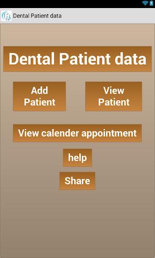 Dental Patient Data