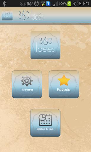 【免費生活App】360 idées-APP點子