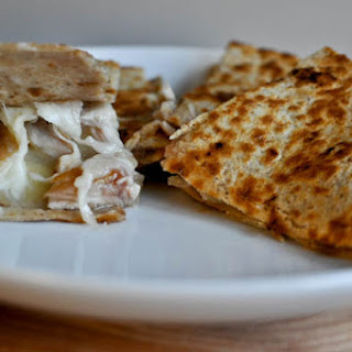 Turkey, Brie & Cranberry Quesadilla.