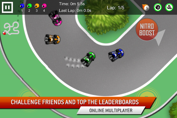 Go Kart Racing Game - screenshot