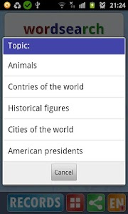 Word search v2.1p