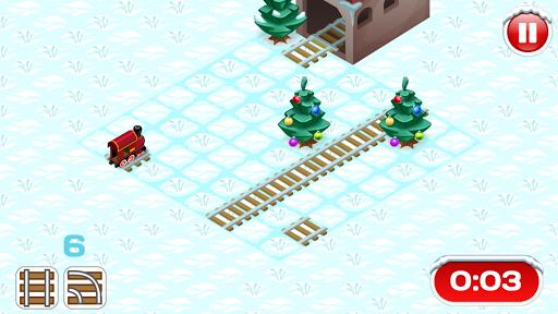 Christmas Rails Puzzle