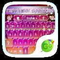 New Sparkles Keyboard Theme icon