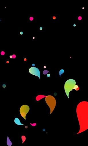 Night Drops Live Wallpaper
