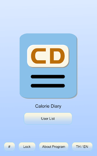 Calorie Diary - to Lose Weight