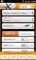 Screenshot of Metal Weight Calculator
