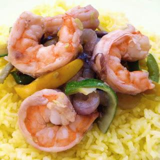 Stir-Fried Shrimp and Vegetables