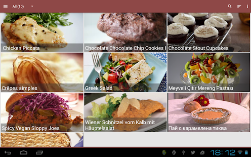 My CookBook (Recipe Manager) - screenshot thumbnail