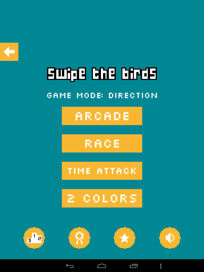Swipe the birds- screenshot