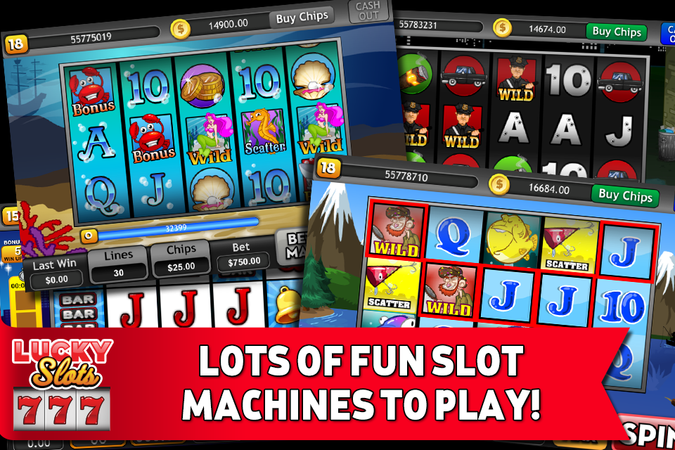 Lucky Slots - Free Casino Game - screenshot