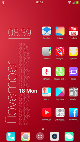 KitKat HD Launcher Theme icons