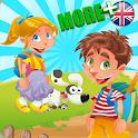 学习  英语  孩子  语言  免费 icon