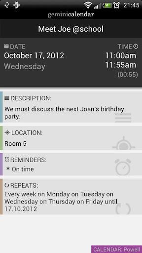 【免費生產應用App】Gemini Calendar-APP點子