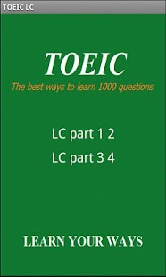 TOEIC Listening and Reading Test: Sample Questions - ETS