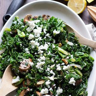 Wilted Kale Salad with Citrus Vinaigrette