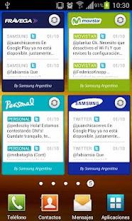 Samsung Argentina Widget
