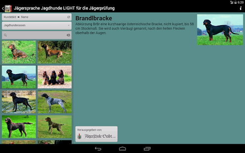 Jägersprache Jagdhunde LIGHT- screenshot thumbnail