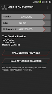 Mitsubishi Road Assist - screenshot thumbnail