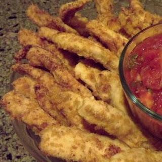 Chicken Strips with Spicy Marinara