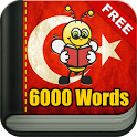 Learn Turkish 6,000 Words icon