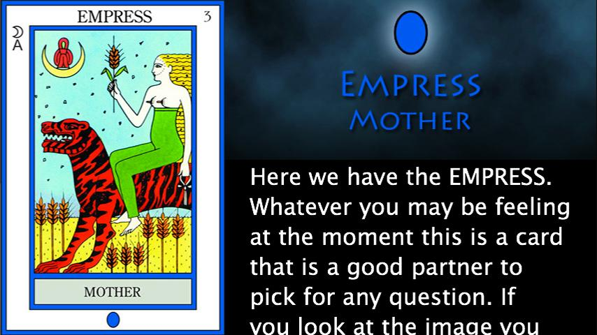 The Elemental Tarot - screenshot