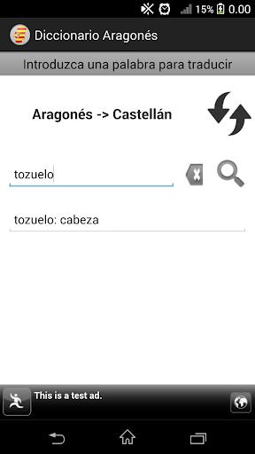 Diccionario Aragonés