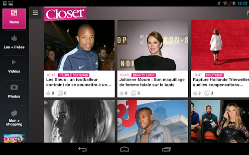 Closer - News People en Live - screenshot thumbnail
