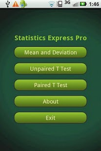 Statistics Express Pro- screenshot thumbnail
