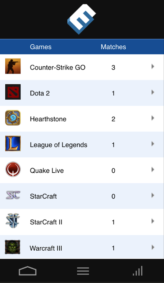 MobeSports - eSports Scoring- screenshot