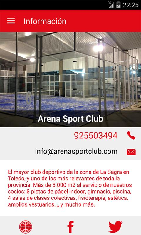Arena Sport Club- screenshot