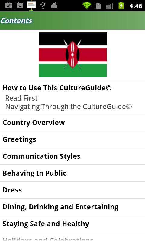 Kenya CultureGuide - screenshot