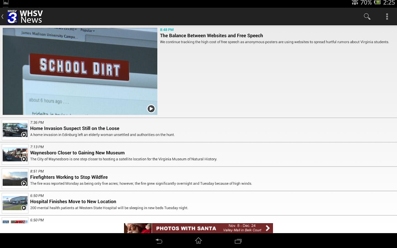WHSV News - screenshot
