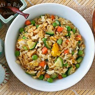 Zucchini and Egg Fried Rice
