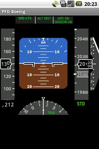 PFD Boeing - screenshot