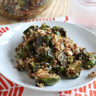 Quinoa & Brussels Sprout Salad.