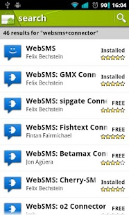 WebSMS- screenshot thumbnail