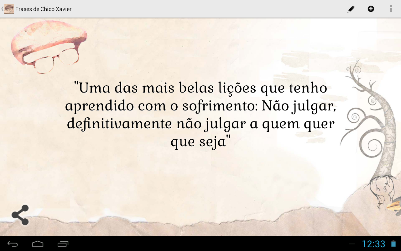 Frases de Chico Xavier - screenshot