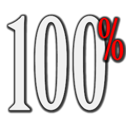 Percentage battery widget