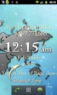 One World LiveWP w/ RSS Reader- screenshot thumbnail