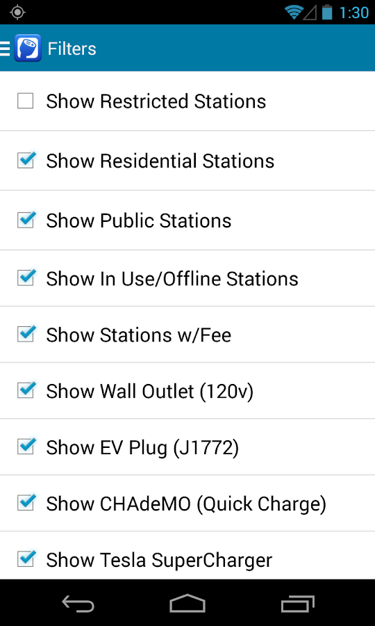 PlugShare - screenshot