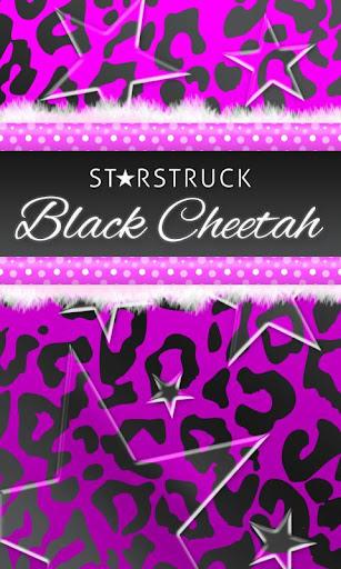 Black Purple Leopard Theme