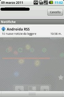 Androida - screenshot thumbnail