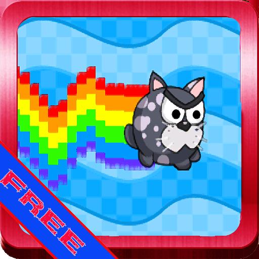 休闲のレインボー猫 LOGO-記事Game