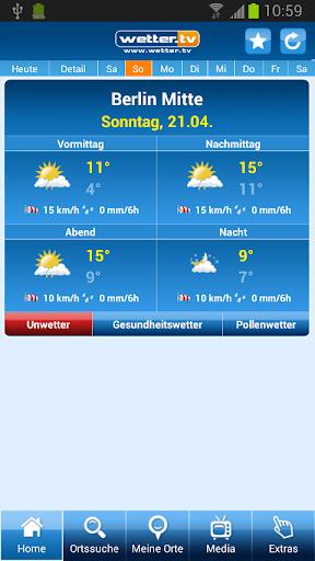 【免費天氣App】Wetter Deutschland - wetter.tv-APP點子