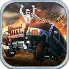 Монстр Автомобиль Hill Racer icon