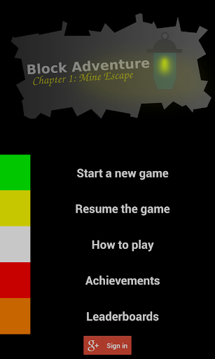 Block Adventure: Mine Escape